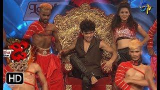 Sanketh and Priyanka Performance | Dhee Jodi | 21st June 2017 | ETV Telugu