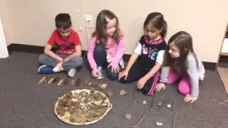 Teaching Patterns using Natural Materials