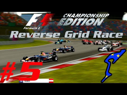 F1 Championship Edition: Reverse Grid Race - Part 5 - Europe / Nurburgring