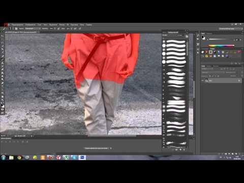 как сделать размытый фон в Photoshop CS6 Урок№8