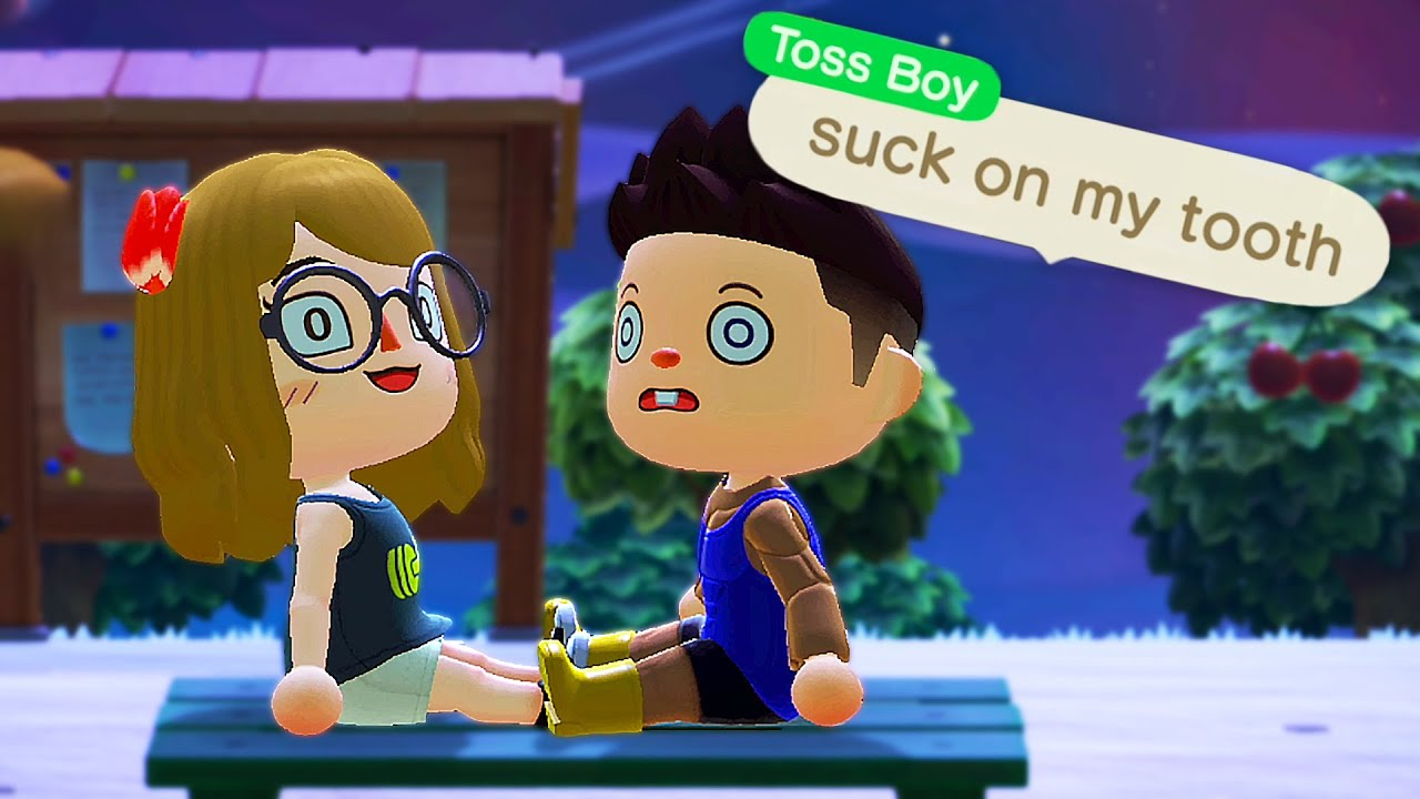 Going On A Date With My Girlfriend In Animal Crossing New Horizons