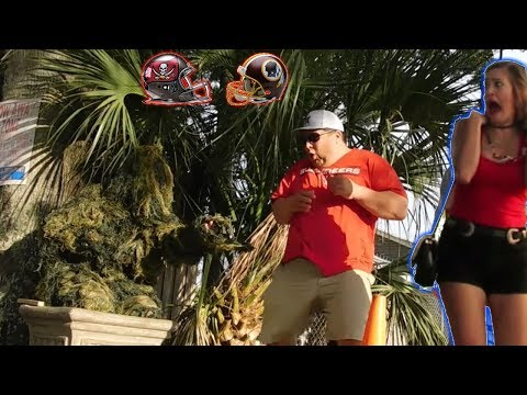 BUSHMAN PRANK AT TAMPA BAY BUCCANEERS VS...