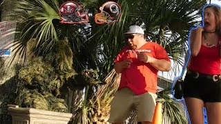 BUSHMAN PRANK AT TAMPA BAY BUCCANEERS VS WASHINGTON REDSKINS