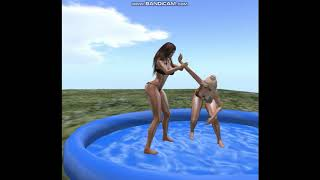 Second Life Catfight