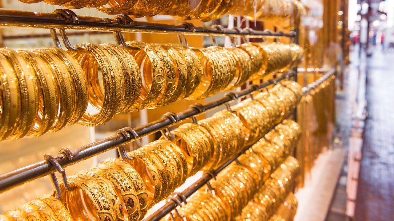 Gold Souk In Dubai Youtube