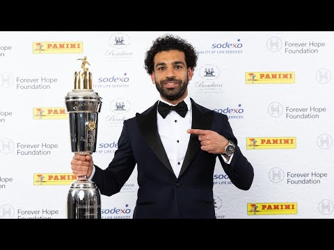 SALAH WINNER OF THE PFA PLAYER OF THE YEARS 2018_les galère