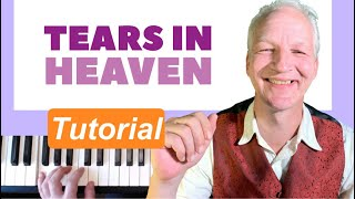 Tears In Heaven piano tutorial, Eric Clapton