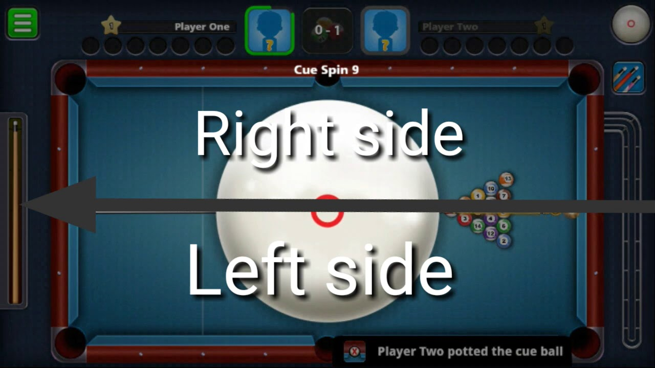 8 BALL POOL SPIN TUTORIAL   Cue ball control   👍