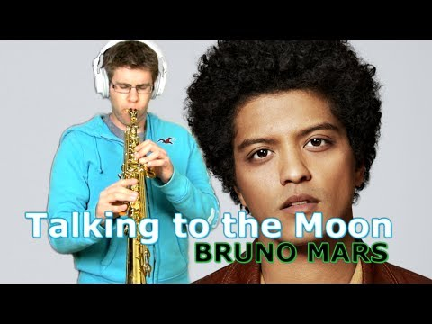 Bruno Mars - Talking to the Moon - Saxophone Cover - BriansThing