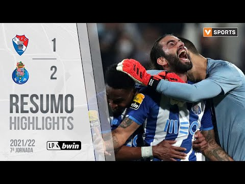 Gil Vicente FC Porto Goals And Highlights