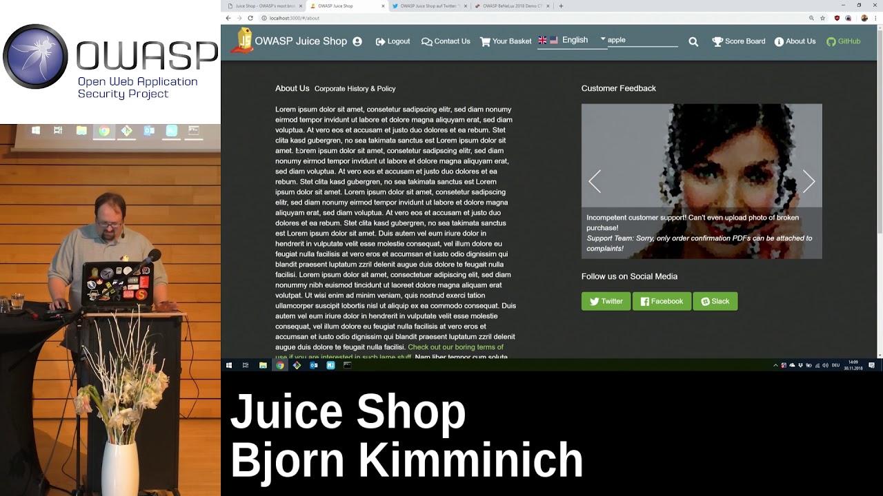 OWASP Juice Shop Project - OWASP