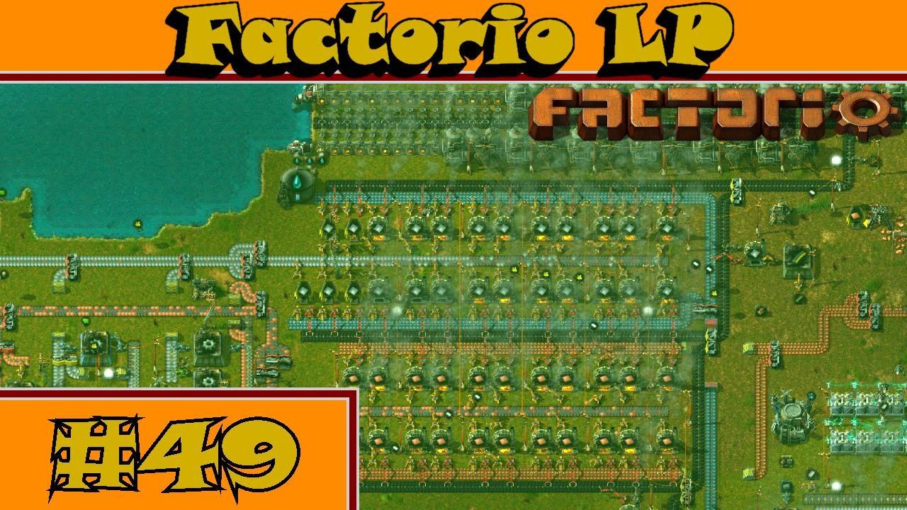 Factorio LP #49 - Mehr elektronische Schaltkreise herstellen - YouTube
