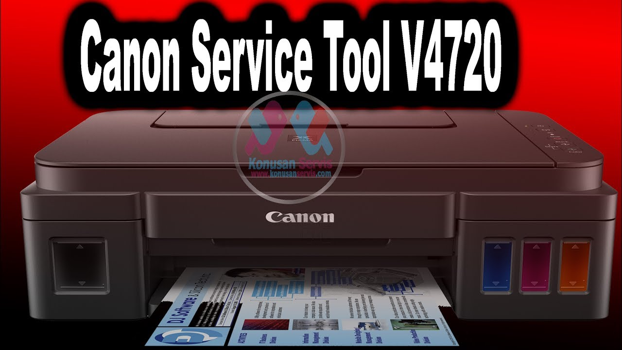 canon Service Tool V4720 5b00 Emici Dolu
