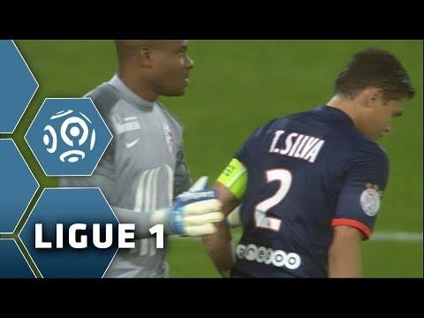 L'incroyable loupé de Thiago SILVA seul devant le but ! PSG - Lille - 2013/2014