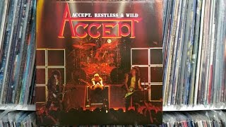 Accept - Princess Of The Dawn (1983) / Clean Vinyl Album Recording HD
