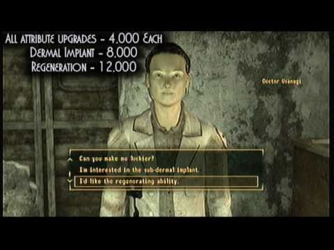 Fallout New Vegas - Finding the Implant Clinic - YouTube
