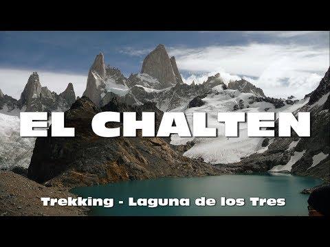 Trekking en EL CHALTEN - Patagonia Argentina - Laguna de los Tres