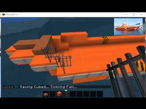 Minecraft Build-Salvamar Pollux-CC