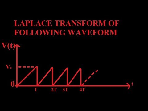 Laplace transform of the waveform by education study - YouTube