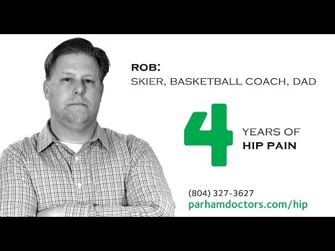 Parham Doctors' Hospital - Rob's Story - Hip Replacement