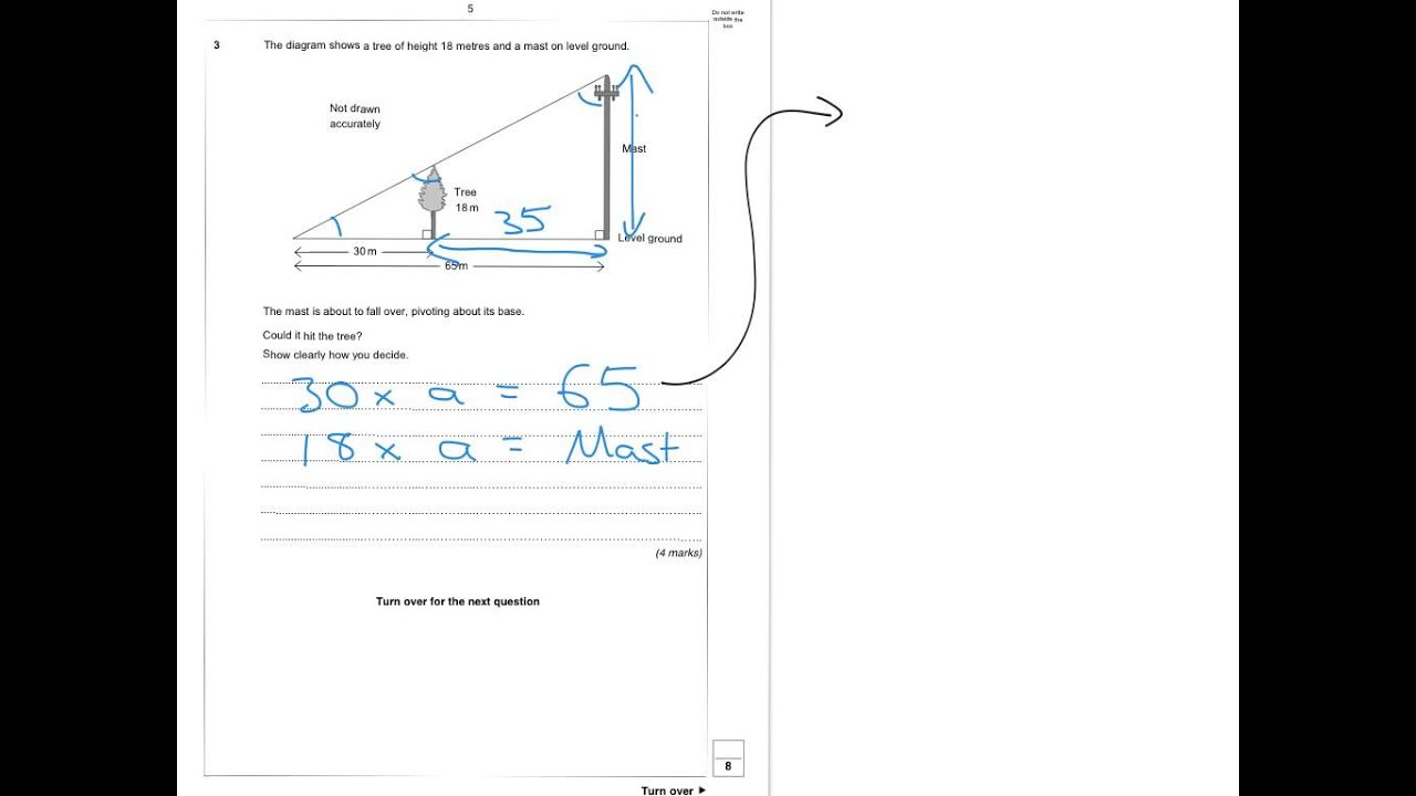 Aqa Further Maths Level 2 Practice Paper Set 4 Paper 1
