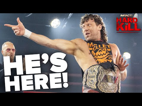 Kenny Omega's EPIC Arrival at IMPACT Wrestling Hard To Kill! | Hard To Kill 2021 Highlights
