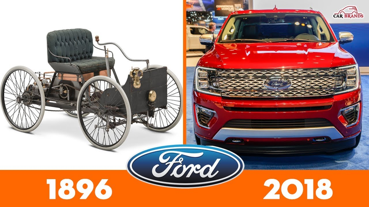 Evolution Of Ford Cars Timeline Car Brands