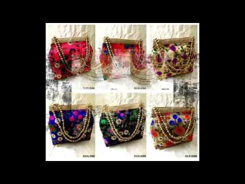 Box Clutches, Potli Bags, Ethnic Bags, Digital Print Bags, Imported Bags At Unbeatable Price