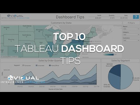 Tableau Dashboard Tips  [Top 10 Tableau Dashboard Design Tips]