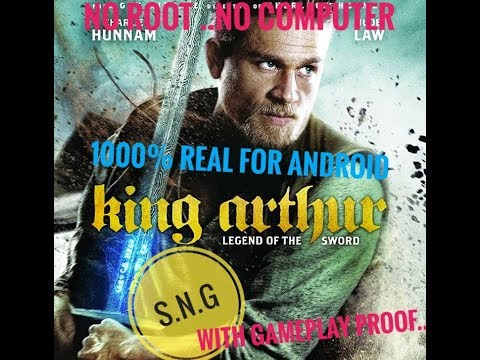 How To Download King Arthur :Legend Of The Sword In Android 1000%real With Gameplay Proof..|S.N.G|