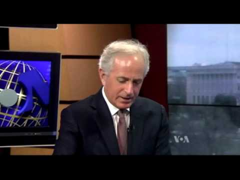 Corker Discusses Syria Talks with VOA