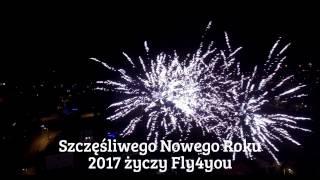 Sylwester 2016 okiem drona Gniezno - Pustachowa [fly4you]