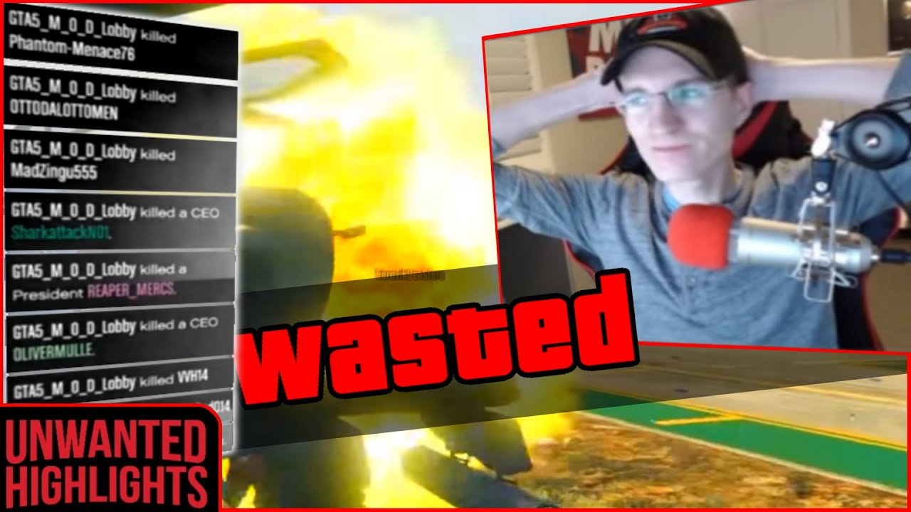 MrBossFTW gets his CAR MEETS DESTROYED and THREATENS online player (GTA 5 Online LiveStream FAILS)