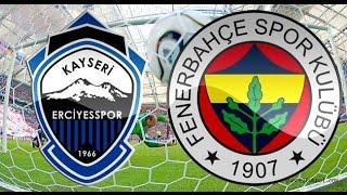KAYSERİ ERCİYESSPOR:0-1:FENERBAHÇE 19.12.2014