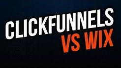 ClickFunnels Vs Wix 2019 ⚔️ Wix Vs ClickFunnels [Bonuses]