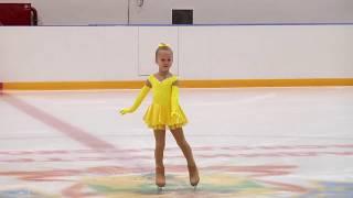 Юный фигурист, Олеся Агафонова (Краснодар) 30.11.2017
