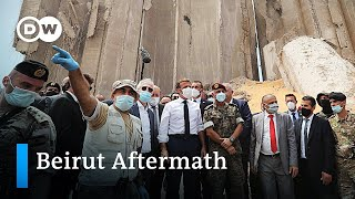 Anti-government protest in Beirut | DW News