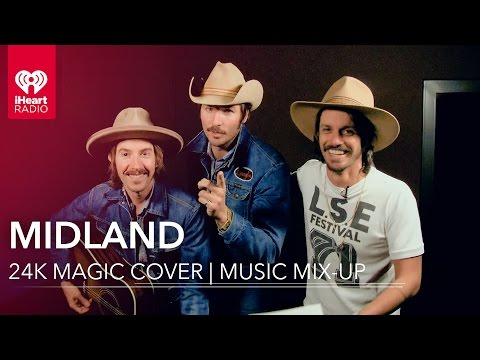 """""""24k Magic"""" Country Cover by Midland   Music Mix-up"""