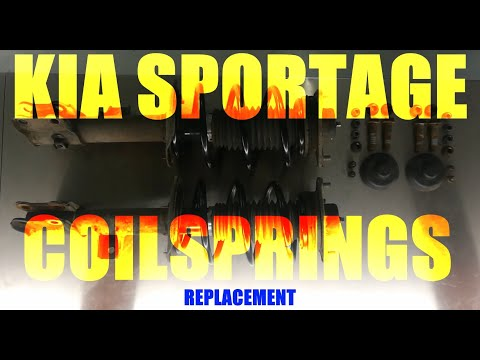 Kia Sportage – Front Suspension Coil Springs Replacement [How to]