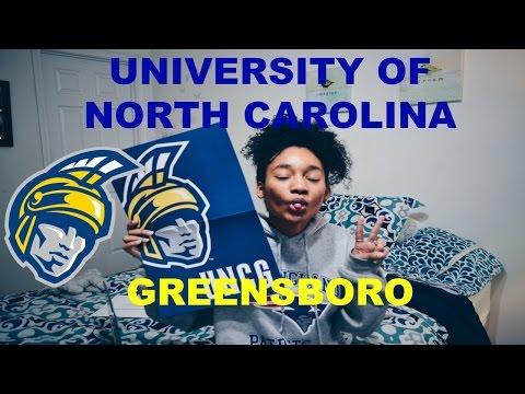 Admissions Decision Reaction #4 | The University of North Carolina Greensboro