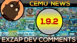 Cemu 1.9.2 | NEWS | Exclusive!
