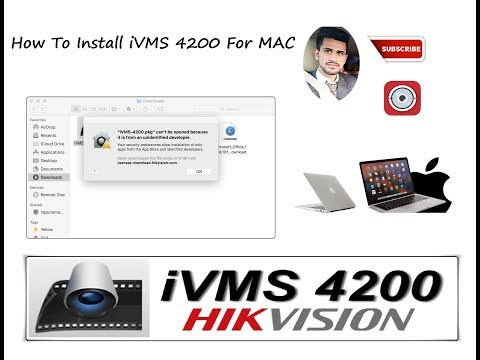 How To Install IVMS-4200 For MAC ( New Client Software )