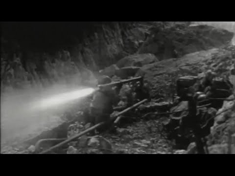 US Army Action Balete / Dalton Pass, Sante Fe, Wawa Dam, Luzon, Philippines WW2 Footage