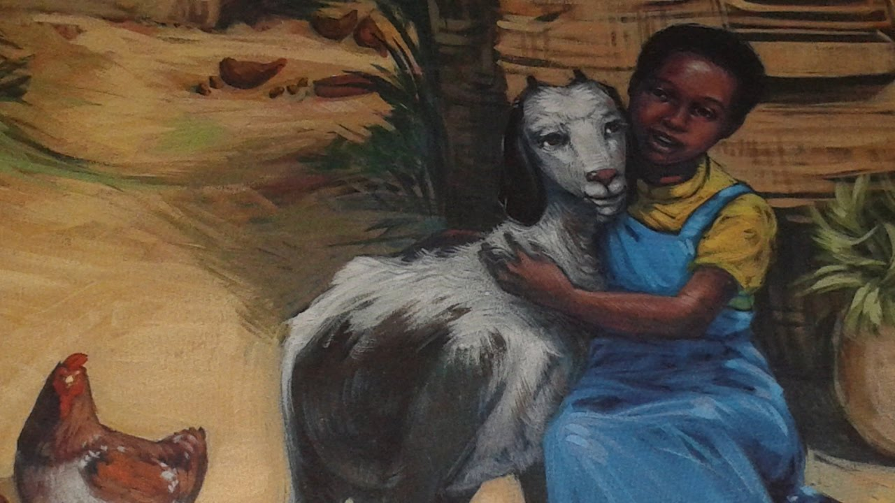 Ghyl Reading Beatrice's Goat by Page McBrier - YouTube