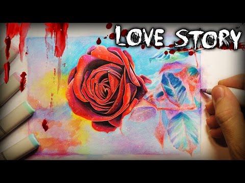 """A Love Lost"" Horror Story - Creepypasta + Drawing"