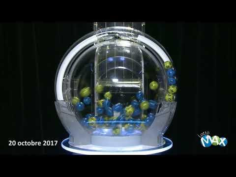 Lotto Max - Tirage du 20 octobre 2017
