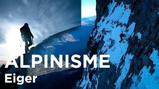 #2 Voie Heckmair Face Nord de l'Eiger 3970 mètres Alpes Bernoises alpinisme montagne
