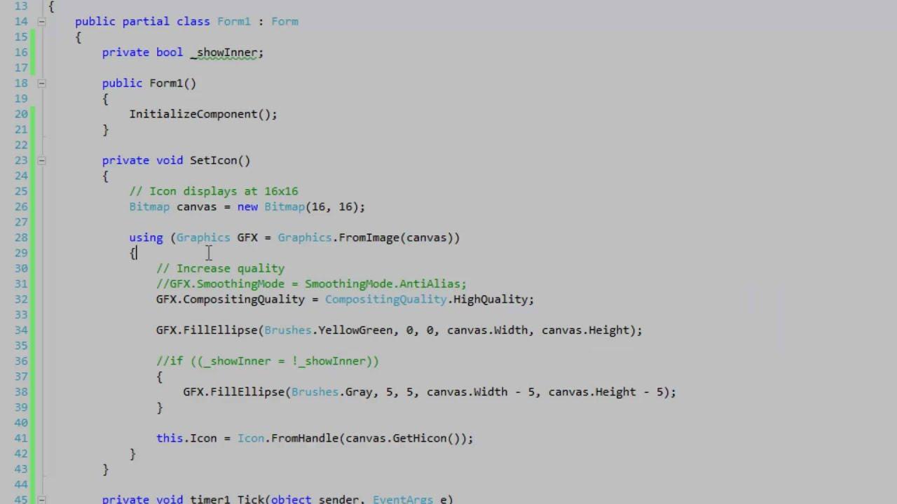 Programmatically create a form icon in C#