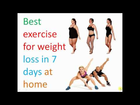 Exercise to lose weight fast at home (burn fat fast workout)