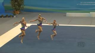 Белоруссия (BLR) 2016  - Чемпионат Мира По Спортивной Акробатике, Ж.Г. +14 Combined